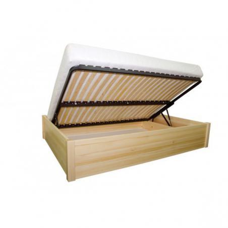 łóżko Sosnowe Lub Brzozowe Stolmis Oliwin 8 Z Pojemnikiem Na Pościel