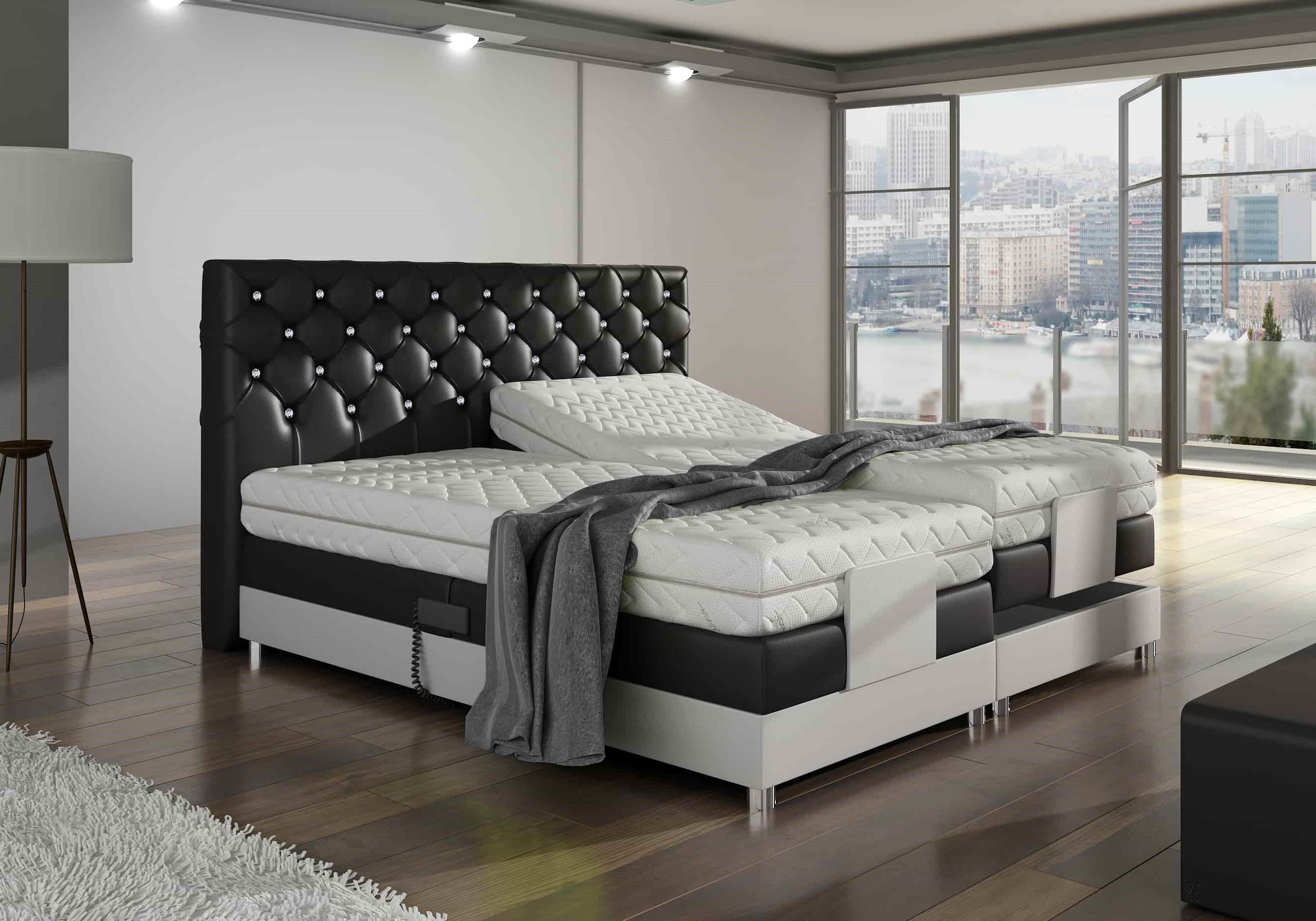 Łóżko kontynentalne EXCLUSIVE M&K Foam Koło