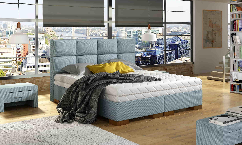 Łóżko kontynentalne SONATA M&K Foam Koło