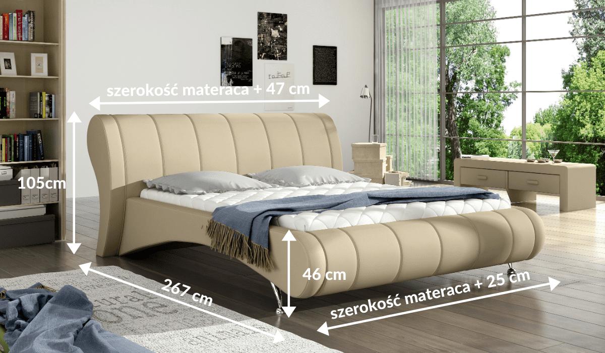 wymiary łóżka 80266