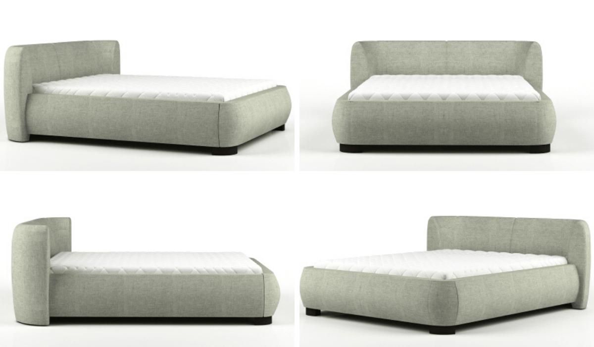 Łóżko tapicerowane 80296