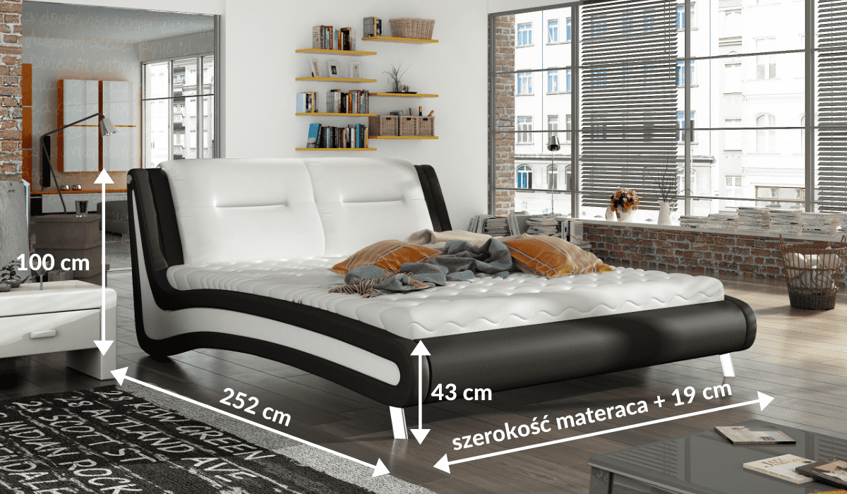 wymiary łóżka 81207