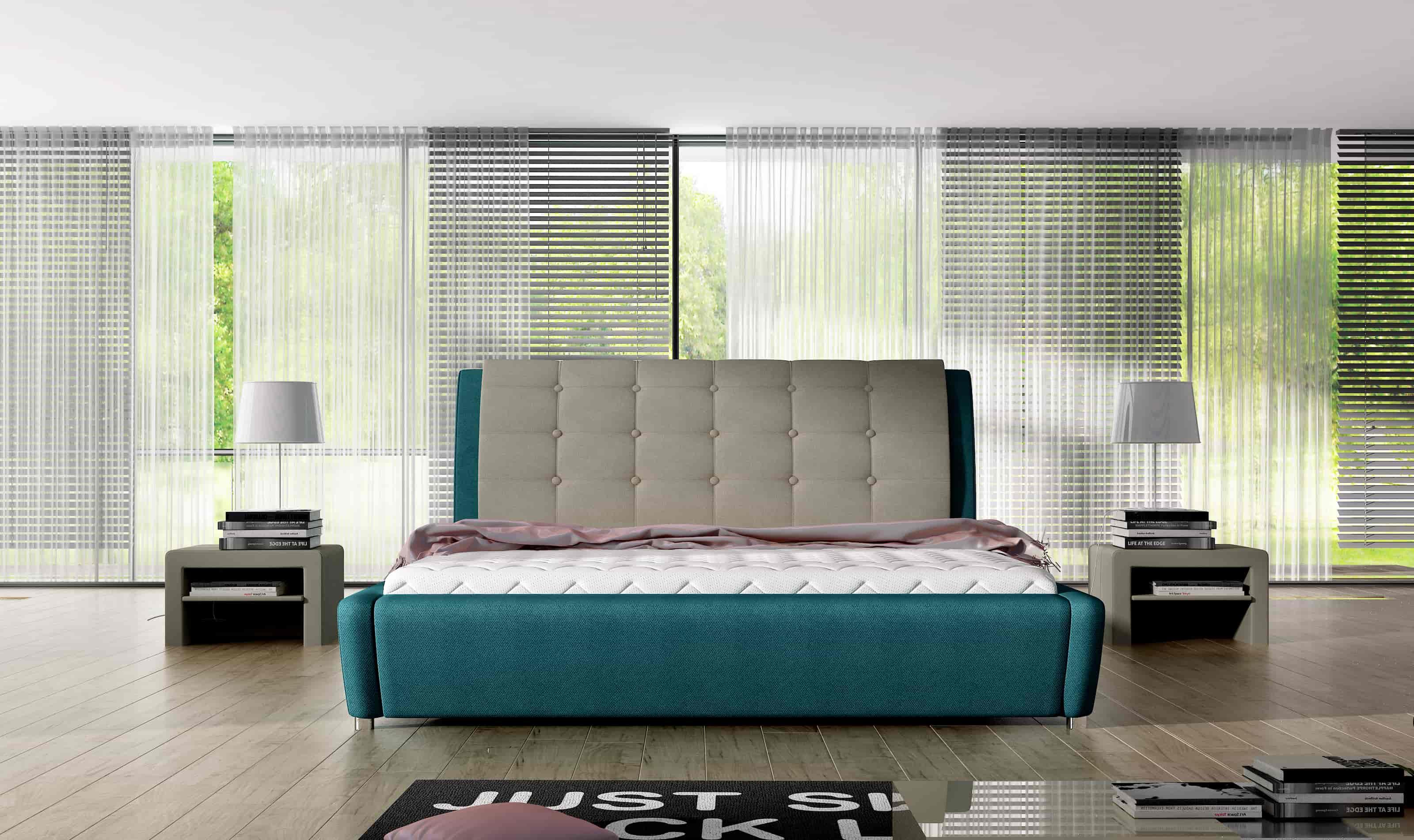 Łóżko tapicerowane 81224