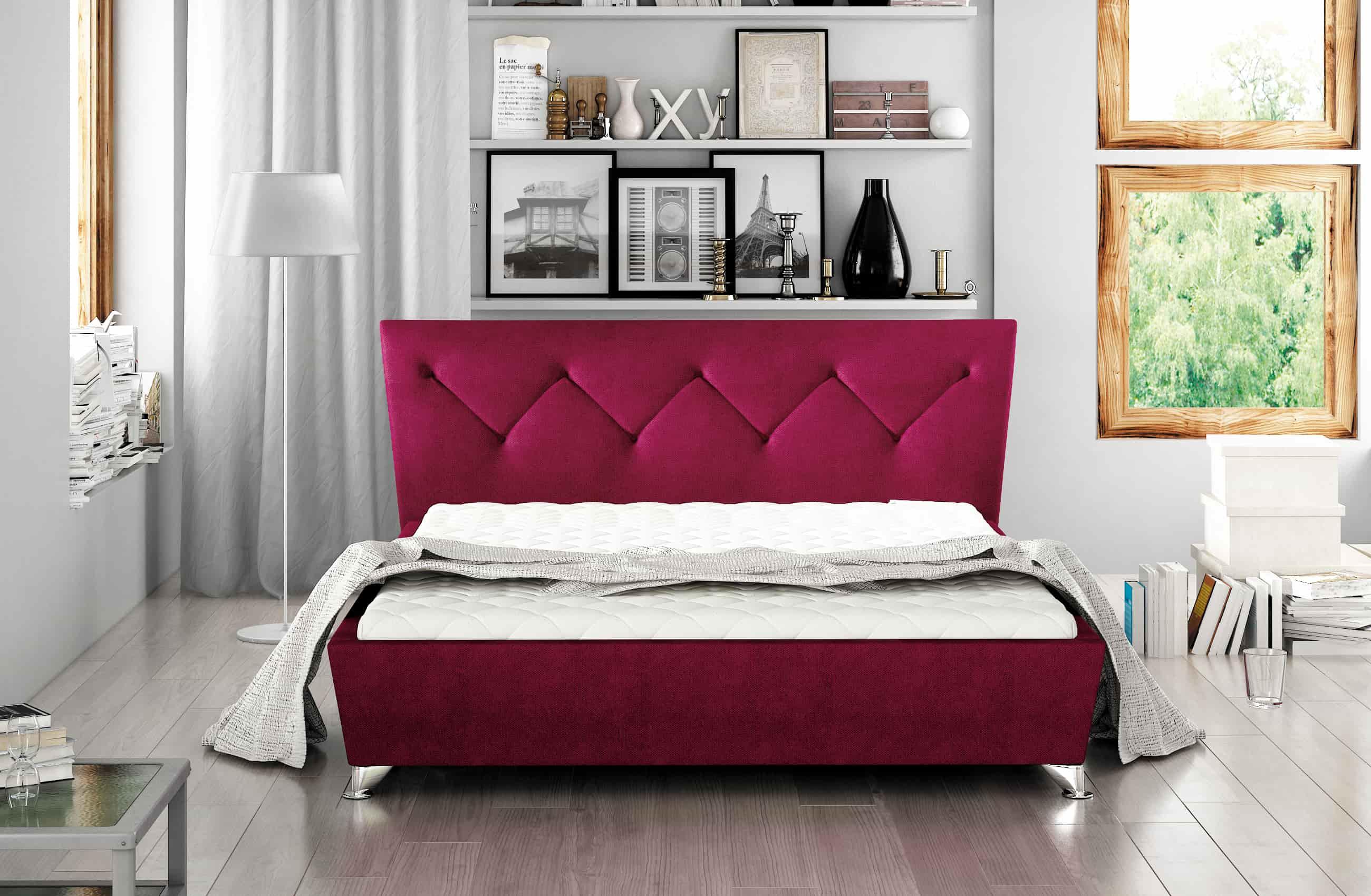 Łóżko tapicerowane 81234
