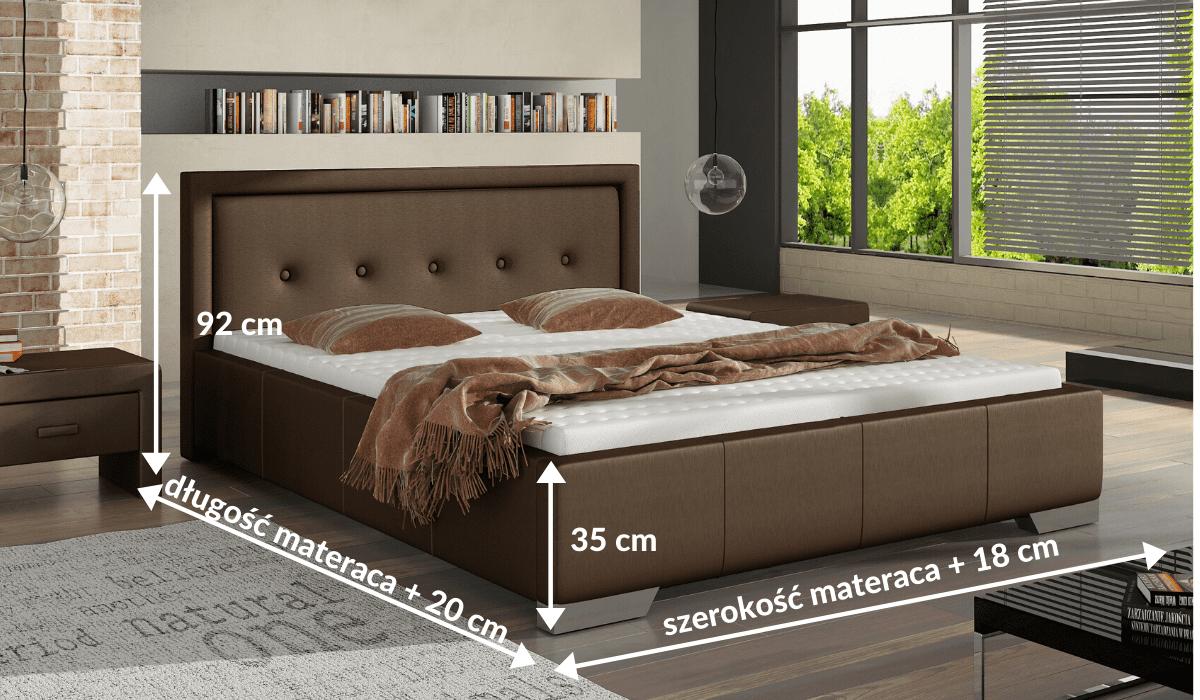 wymiary łóżka 81277