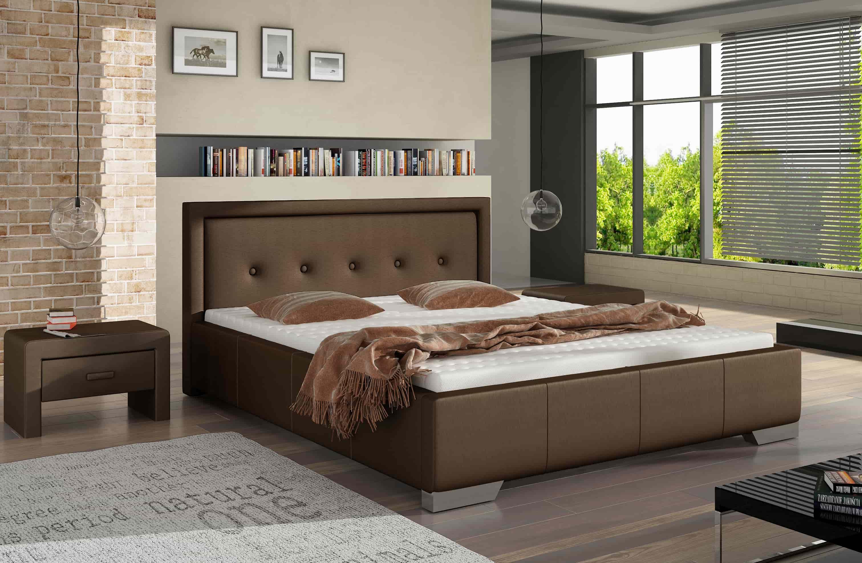 Łóżko tapicerowane 81277